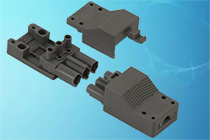 AC 166 GST/3 SK II and GBU/3 SKII - 3 pole (2+1) plug-in connectors according to protection class II