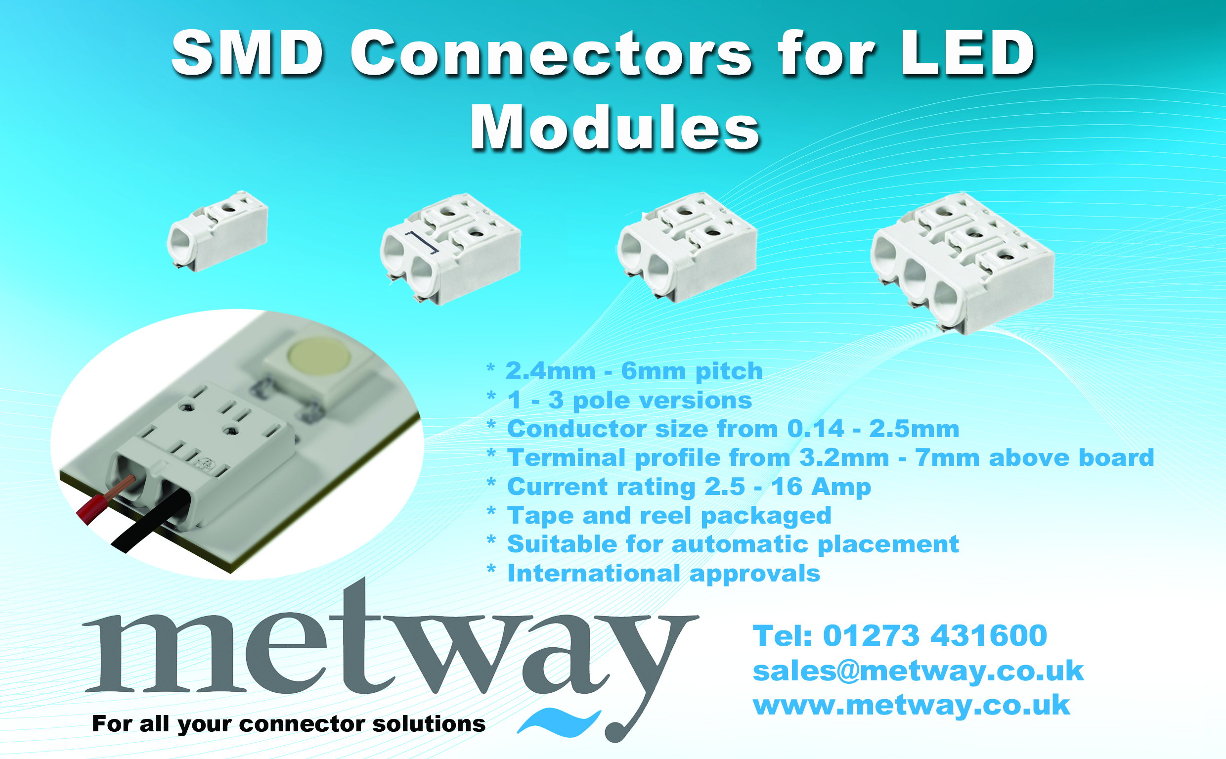 SMD -LED Connectors