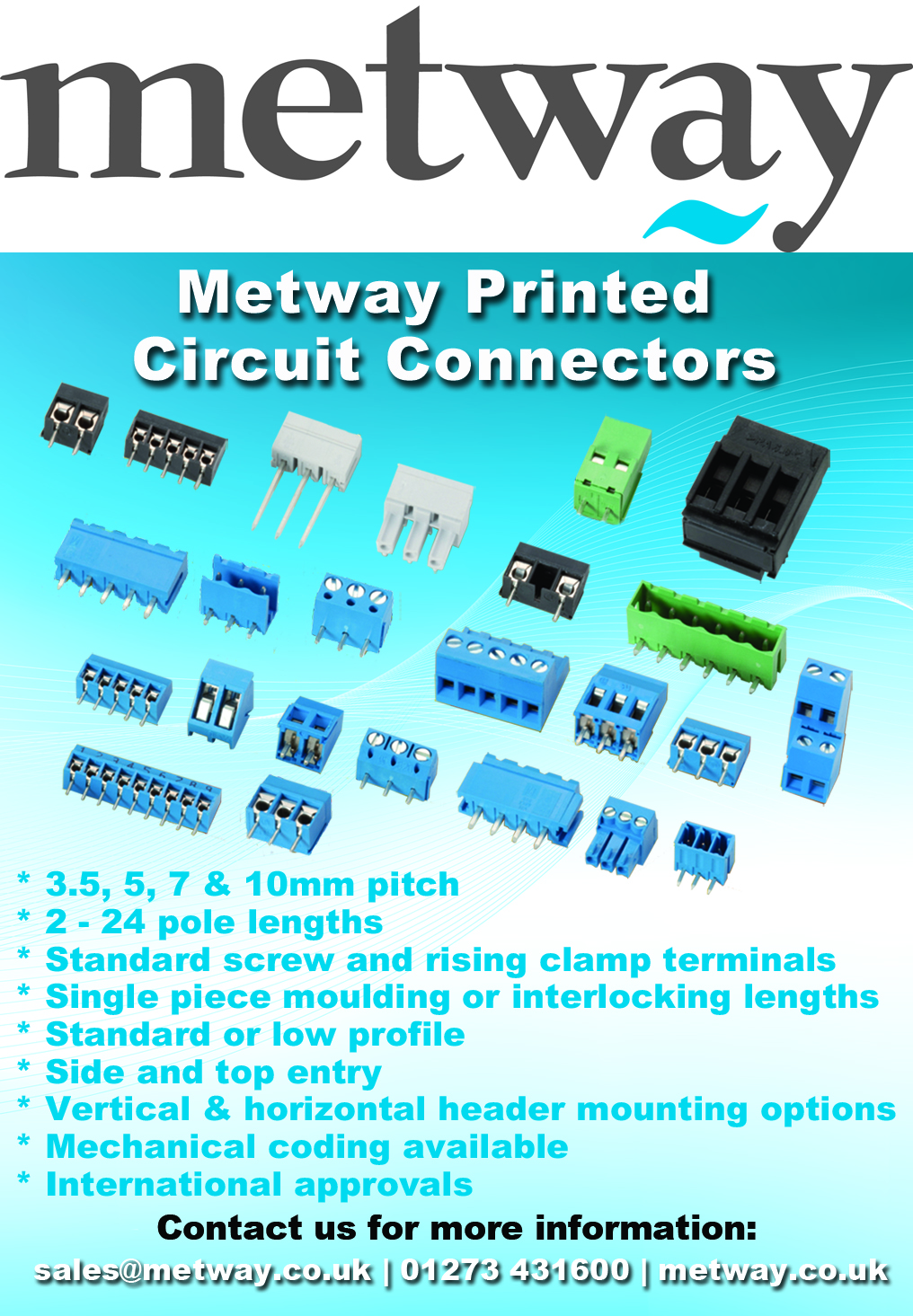 Printed Circuit Connectors
